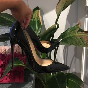 Christain Louboutins Black So Kate's